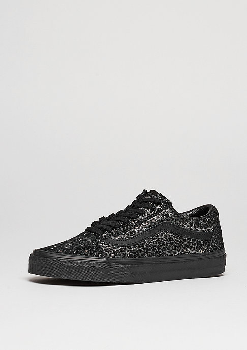 VANS Old Skool Metallic Leopard black/black