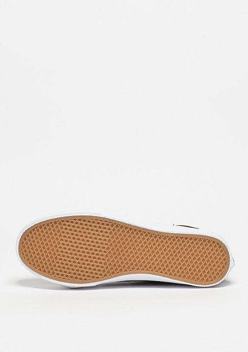 VANS Schuh SK8-Hi Slim Cutout Perf Suede tarmac/true white