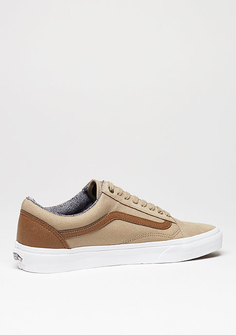 VANS Old Skool C&L silver mink/true white