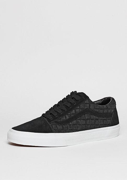 VANS Skateschuh Old Skool Suede Checkers black