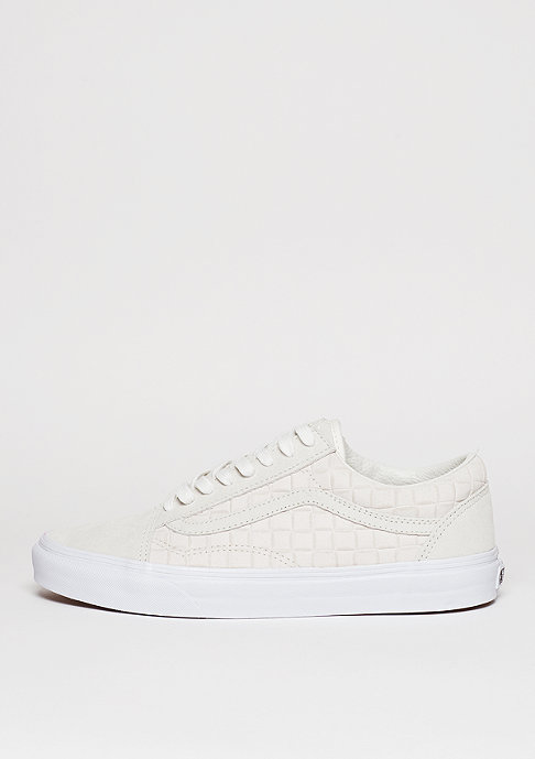 VANS Old Skool Suede Checkers white