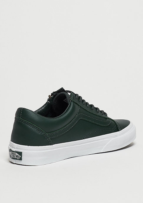 VANS Skateschuh Old Skool Zip Antique Silver green gables/true white