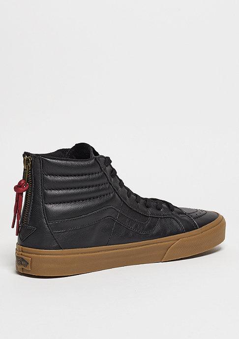 VANS Skateschuh SK8-Hi Reissue Zip Hiking black/gum