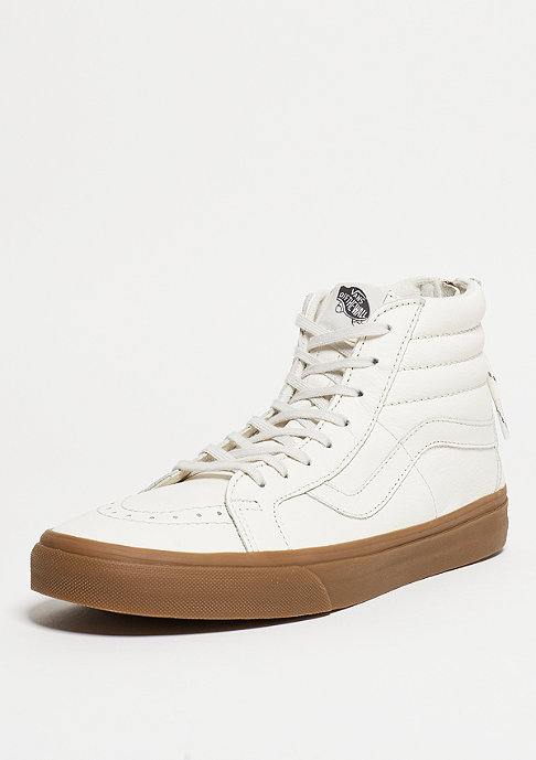 VANS Skateschuh SK8-Hi Reissue Zip Hiking white/gum