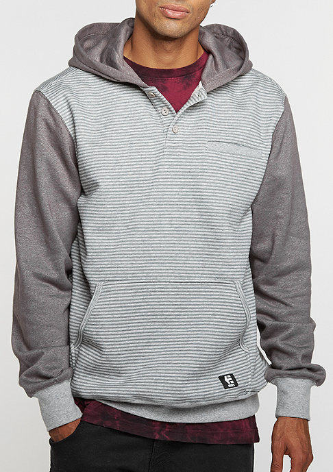 Etnies Hooded-Sweatshirt Point A Henley grey/light grey