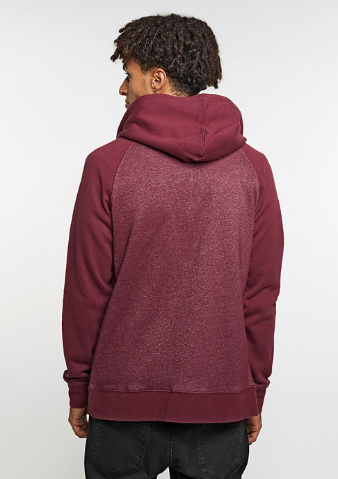 Etnies Hooded-Zipper E Corp Zip burgundy