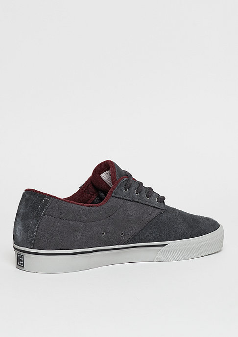 Etnies Skateschuh Jameson Vulc dark grey/grey/red