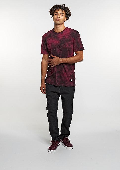 Etnies T-Shirt Obstruct Screen burgundy