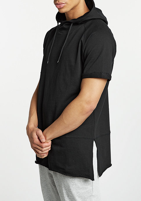 Urban Classics T-Shirt Shortsleeve Long Raglan black