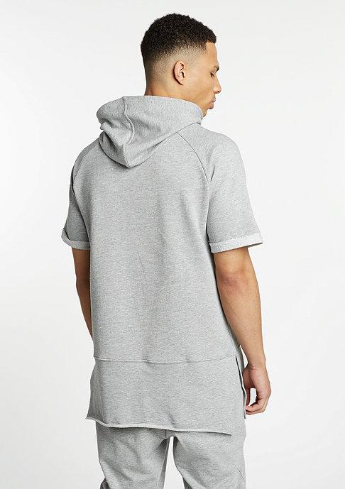 Urban Classics T-Shirt Shortsleeve Long Raglan grey