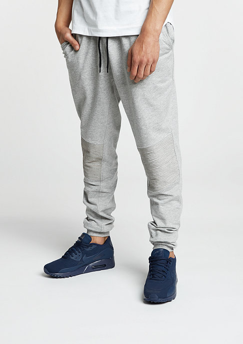 Urban Classics Trainingshose Deep Crotch Terry Biker grey