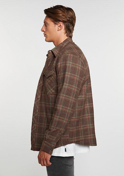 Brixton Manchester Flannel brown