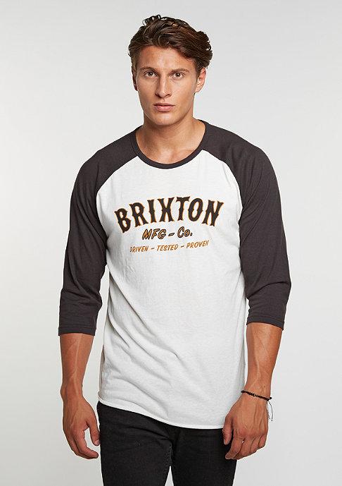 Brixton Longsleeve Harold 3/4 SLV offwhite/washed black