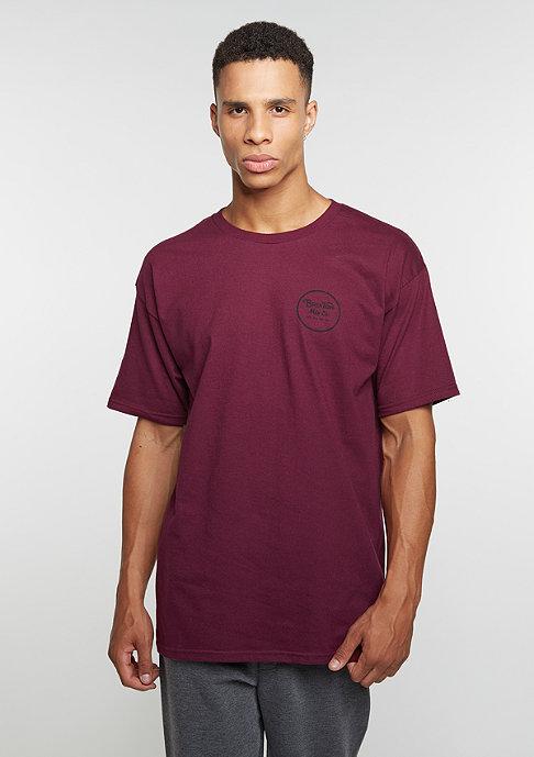 Brixton Wheeler || STND burgundy/black