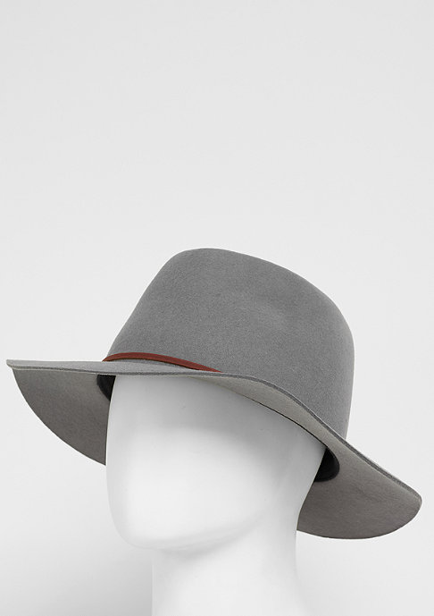 Brixton Hut Wesley Fedora light grey