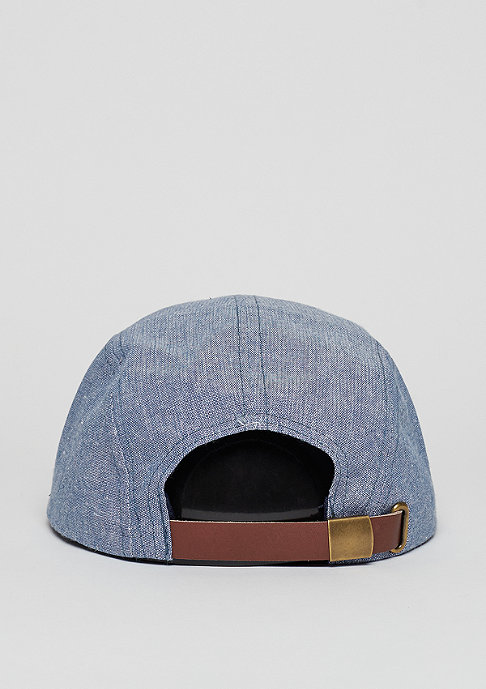 Brixton Hoover 5 Panel Cap light blue/navy