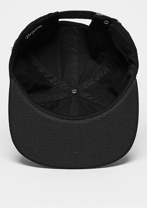 Brixton Strapback-Cap Oath 7 Panel Cap black