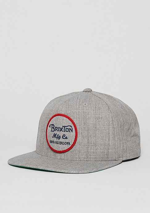 Brixton Wheeler light heather grey