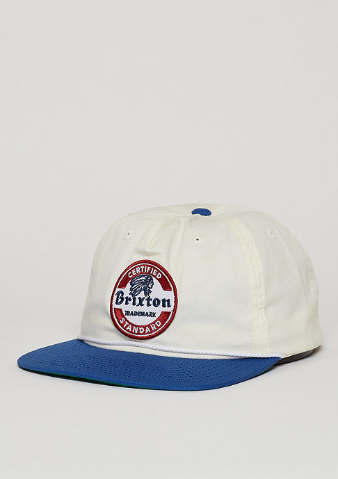 Brixton Soto white/royal