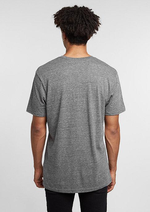 VANS T-Shirt Classic Heather black/bright white