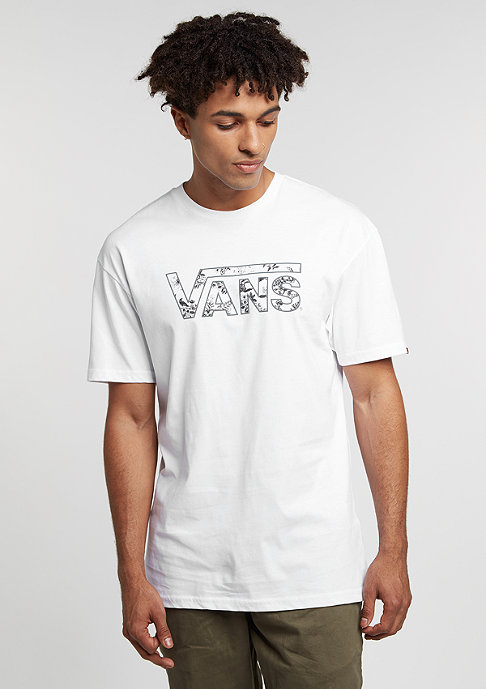 VANS Classic Logo Fill white/datura toile
