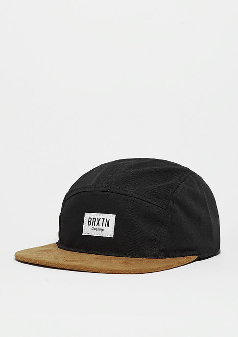 Brixton 5-Panel-Cap Hoover 5 Panel black/copper