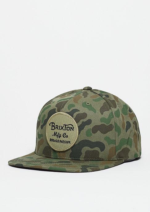 Brixton Snapback-Cap Wheeler camo