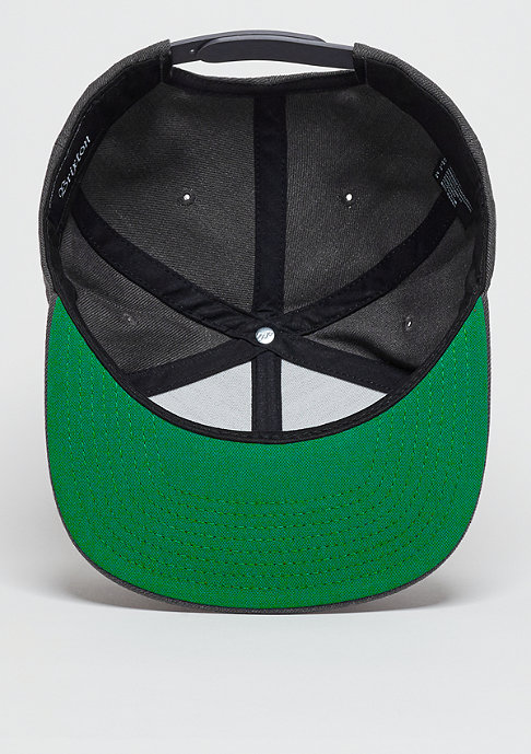 Brixton Snapback-Cap Wheeler charcoal heather