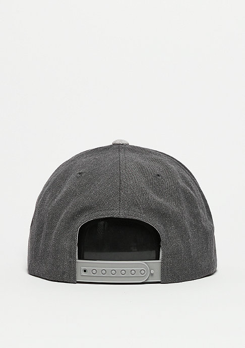 Brixton Snapback-Cap Rival light grey heather/charcoal heather