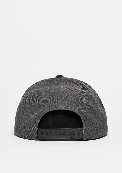 Brixton Snapback-Cap Grade charcoal heather/black
