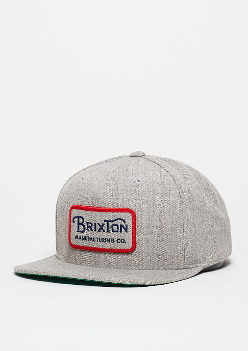 Brixton Snapback-Cap Grade light heather grey
