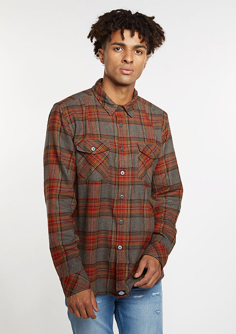 Dickies Hemd Wallace red