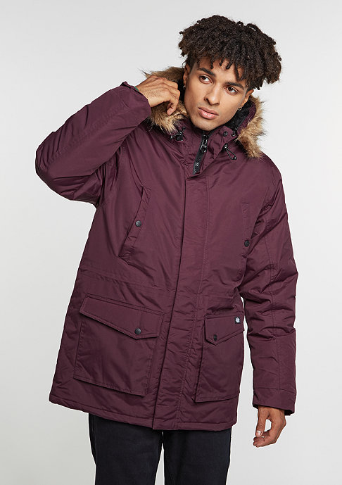 Dickies Winterjacke Curtis maroon