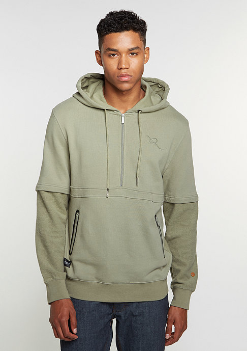 Rocawear Hooded-Sweatshirt grey/olive