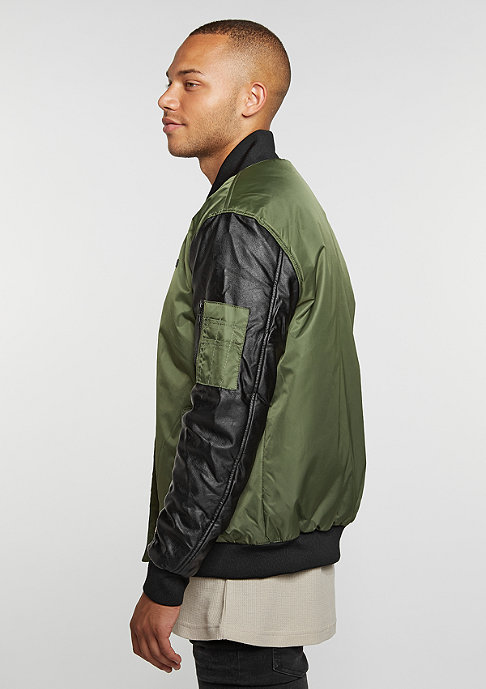 Rocawear Übergangsjacke Outerwear grey/olive