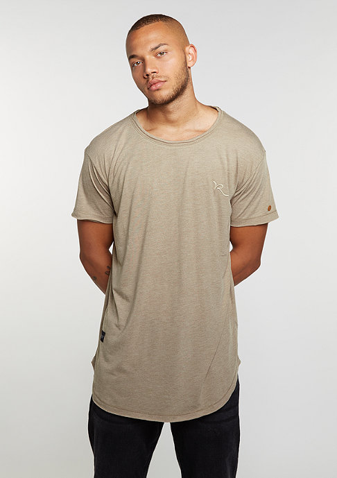 Rocawear T-Shirt Long khaki