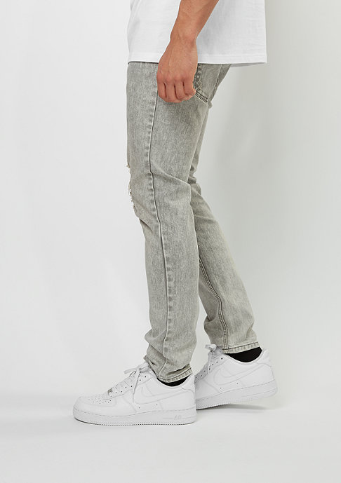 Rocawear Denim Pant grey wash destroyed