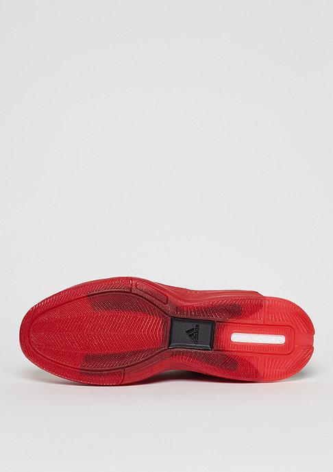 adidas Basketballschuh Crazylight Boost 2.5 Low maroon/scarlet/white