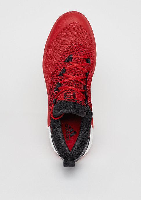 adidas Crazyllight Boost Low maroon/scarlet/white