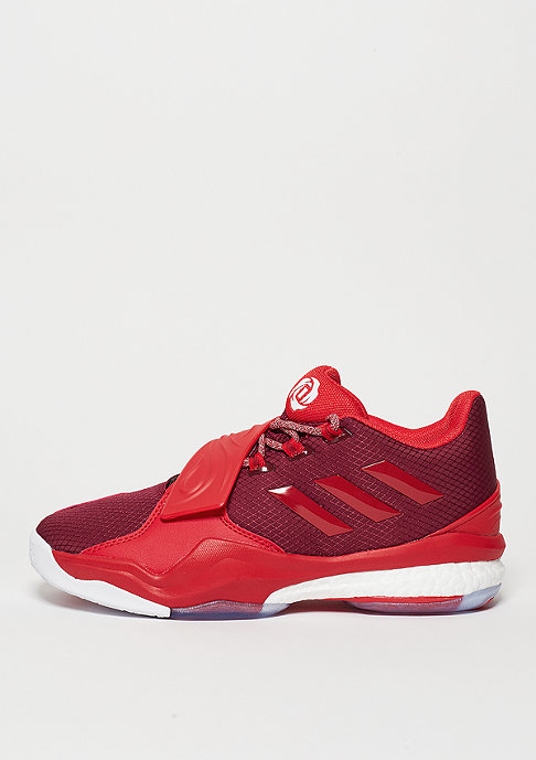 adidas D Rose Englewood Boost collegiate burgundy/ray red/white