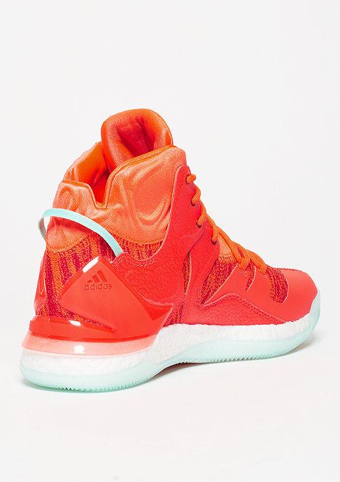 adidas D Rose 7 Primeknit solar red/white/ice green