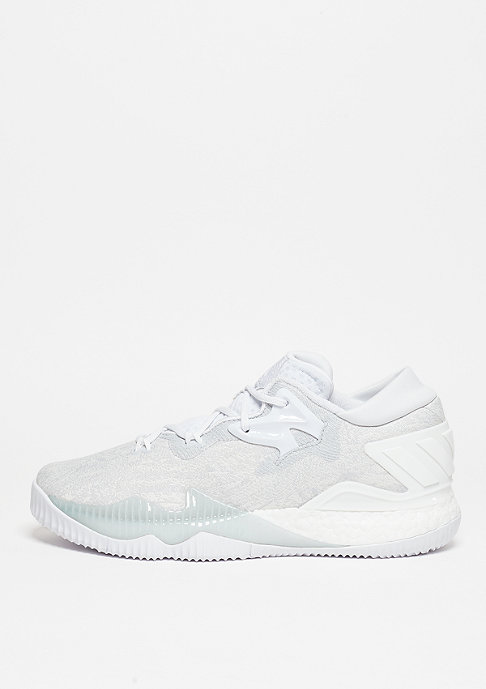 adidas Basketballschuh Crazylight Boost Low 2016 white/white/white