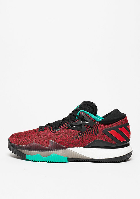 adidas Basketballschuh Crazylight Boost Low 2016 ray red/scarlet/core black