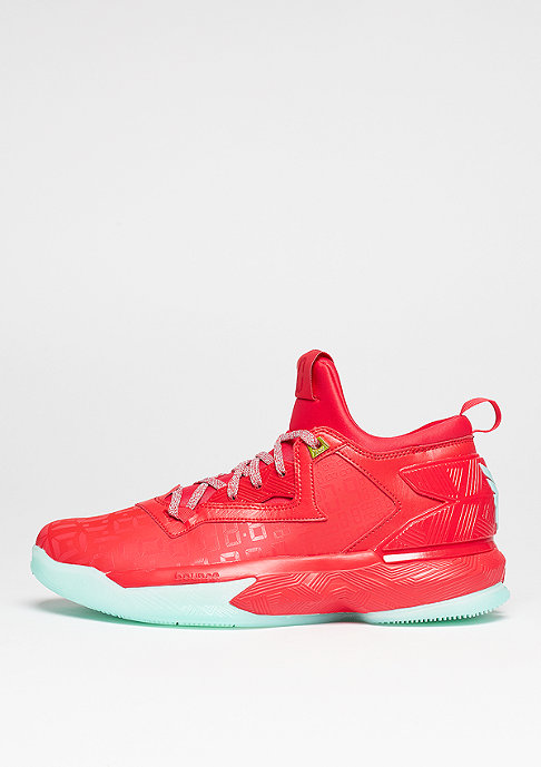 adidas D Lillard 2 ray red/ice green/ray red