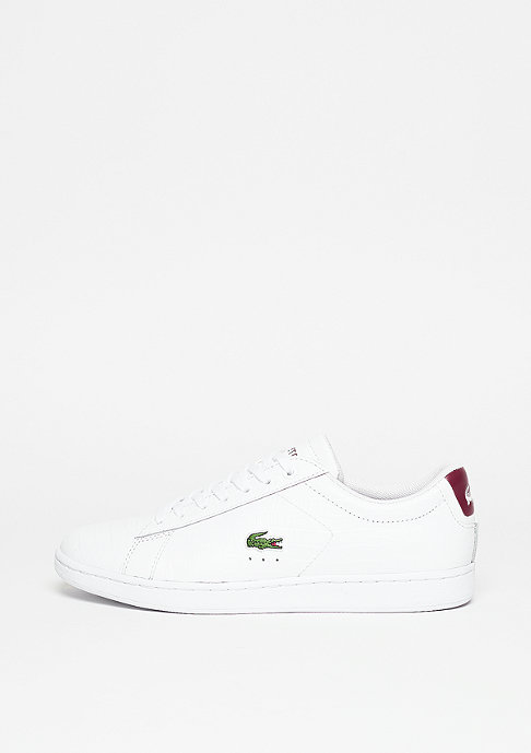 Lacoste Schuh Carnaby Evo G316 8 SPW white/red