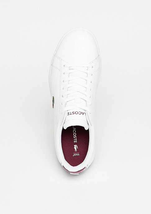 Lacoste Carnaby Evo G316 8 SPW white/red