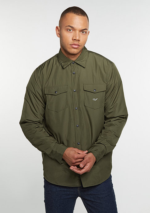 Reell Padded Overshirt olive
