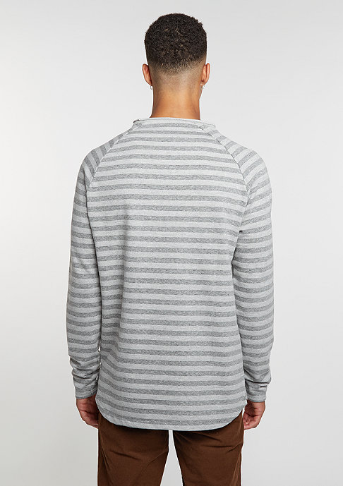 Reell Longsleeve Striped dark grey/light grey