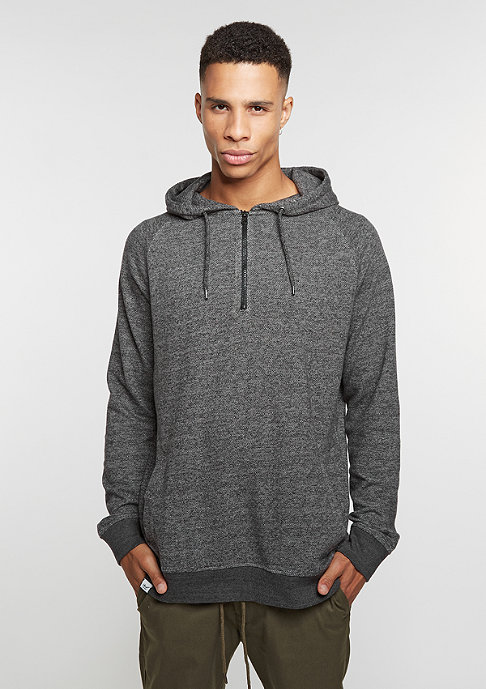 Reell Hooded-Sweatshirt Quarter Zip Hoody anthracite grey