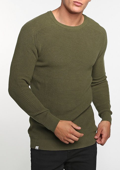 Reell Sweatshirt Knitted olive